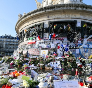 La place de la République à Paris.