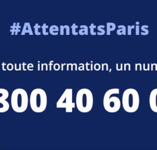 Attentats de Paris : une Cellule Interministérielle d'Aide aux Victimes (CIAV) pour aider les familles
