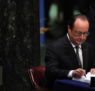 COP21 : signature de l'Accord de Paris