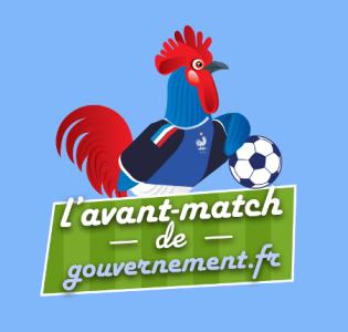 L'avant-match de gouvernement.fr