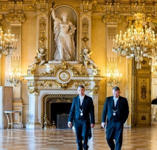 Salon de l'horloge, Quai d'Orsay