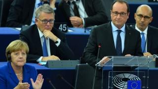Les mots du porte-parole :  Europe :  Nous devons faire le choix de la marche en avant plutôt que du retour en arrière