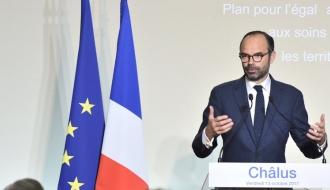Discours du Premier ministre à Châlus