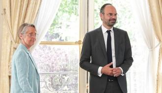 Le Premier ministre et Élisabeth Borne