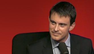Photo de Manuel Valls à France inter