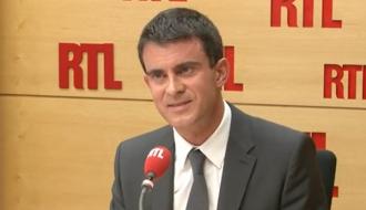 Manuel Valls sur RTL