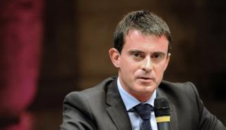 Photo de  Manuel Valls prise à Blois le 11 octobre.