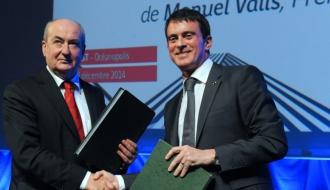 Manuel Valls à Brest