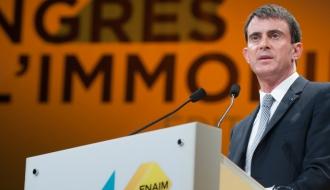 Au congrès de la FNAIM, Manuel Valls annonce la simplification des transactions immobilières