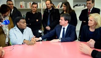 [Essentiel] Retour sur la visite de Manuel Valls au Centre d'hébergement du Samu social de Montrouge le 31 décembre 2014