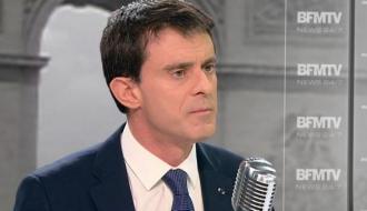 Manuel Valls sur BFMTV
