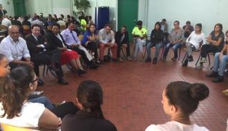 Le délégué interministériel à la lutte contre le racisme et l'antisémitisme reçu mardi 23 juin à Vaulx-en-Velin