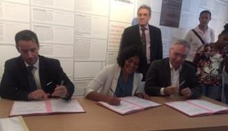 Première convention de partenariat dans le cadre du plan national d'action contre le racisme et l'antisémitisme DILCRA - Fondation du Camp des Milles