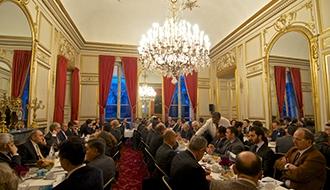 Petit déjeuner du CoFIS, allocution de Louis Gautier et Marc Darmon
