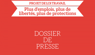 Projet de #LoiTravail : dossier de presse