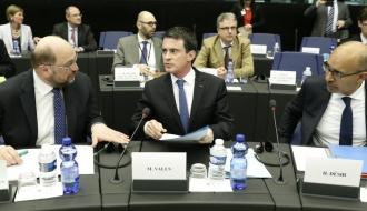 """""""Face aux crises que nous connaissons,  l'Europe n'est pas le problème, c'est la solution. Mais pour cela, il faut s'en donner les moyens"""""""