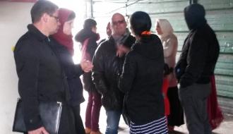 La Dihal rencontre des jeunes du programme « Romcivic » à Saint-Ouen