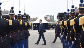 Manuel Valls rend hommage à l'engagement des forces de sécurité
