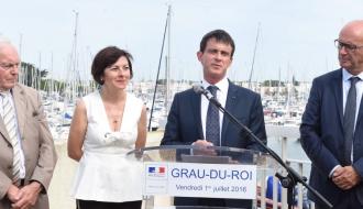 """""""La France a de nombreux atouts. Parmi ceux-là, il y a la beauté de nos paysages, notre large façade maritime"""""""