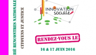 Innovation sociale : intervention de la Dihal lors des Rencontres nationales de Citoyens et Justice