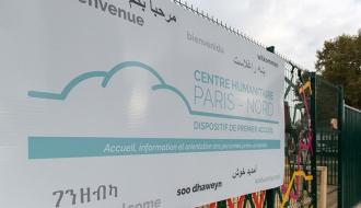 Paris : ouverture du centre de premier accueil pour les migrants