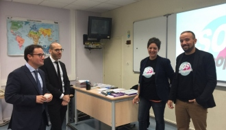 Intervention en milieu scolaire avec l'association SOS homophobie