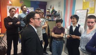 Rencontre avec les associations de jeunes et d'étudiants LGBT