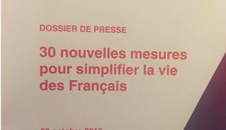 30 mesures de simplification pour les particuliers