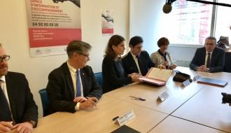 Le nouvel Espace d'information et d'accompagnement des victimes à Nice permettra de doubler la capacité d'entretiens