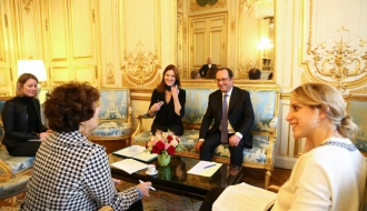 Remise du rapport de Françoise RUDETZKI, pour un centre de ressources et de résilience