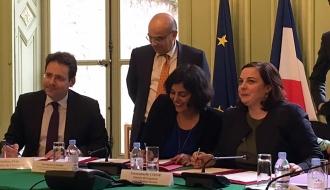 Insertion des réfugiés vers l'emploi : signature d'un accord cadre national