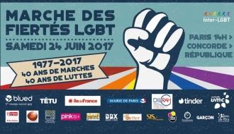 Marche des Fiertés 2017 - La DILCRAH engagée pour les droits des personnes LGBTI