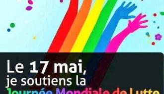 Journée internationale de lutte contre l'homophobie et la transphobie