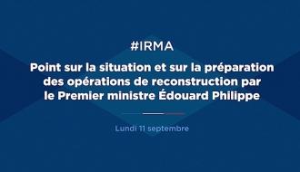 """Après l'ouragan Irma : """"notre priorité reste la reconstruction de l'île"""""""