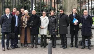 """""""Philippe Gustin rencontre son homologue néerlandais à La Haye"""""""