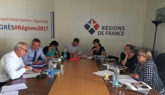 Thierry LEPAON a été auditionné par la commission emploi-formation de l'Association des régions de France (ARF)