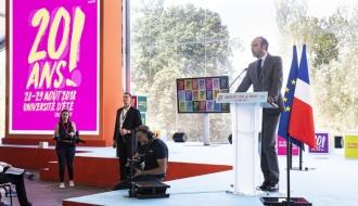 """Edouard Philippe au Medef : """"Il n'est pas trop tard pour réparer notre pays"""""""