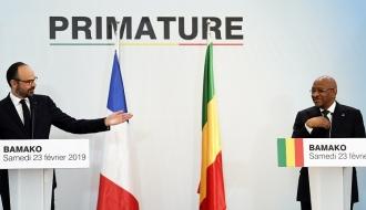 """""""La France et le Mali sont sur le chemin de relever l'ensemble des défis"""" sur la démocratie et la prospérité"""