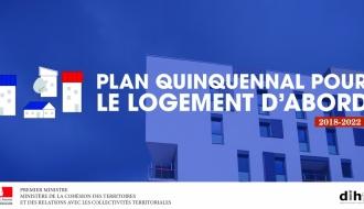 Plan quinquennal pour le Logement d'abord : Le gouvernement engagé pour un accès rapide et pérenne au logement pour les personnes sans domicile