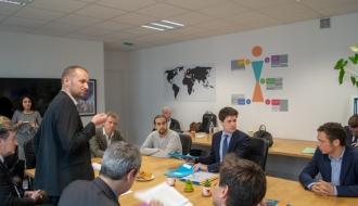 Lancement de l'appel à projets « cohabitations solidaires » par Julien Denormandie