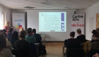 Intervention de la Dihal lors d'une conférence internationale organisée à Vienne par le réseau européen SHARE