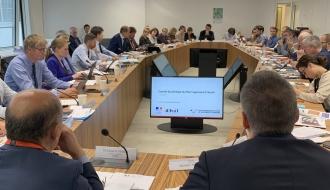 Bilan et perspectives du plan Logement d'abord : le ministre Julien Denormandie a réuni les acteurs de l'hébergement et du logement