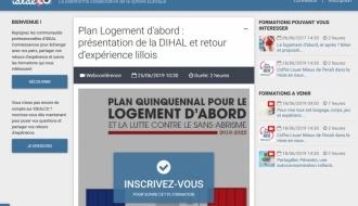À venir : webconférence sur le Plan Logement d'abord le mardi 25 juin 2019