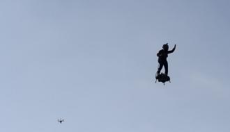 Vol en flyboard