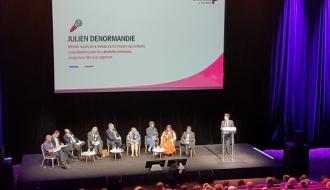 Lancement du l'Acte II du Logement d'abord 60 millions d'euros supplémentaires annoncés par Julien DENORMANDIE, ministre chargé de la Ville et du Logement