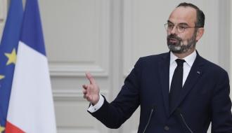 Edouard Philippe en sortie de Conseil des ministres
