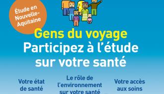 La santé des Gens du voyage : étude en Nouvelle-Aquitaine, 2019-2020