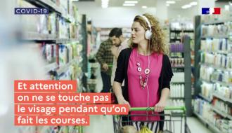 Ma vie quotidienne, épisode 1 : comment faire ses courses | COVID-19 | Gouvernement
