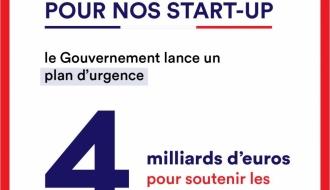 [Communiqué] Le Gouvernement annonce un plan d'urgence de soutien dédié aux start-ups de près de 4 milliards d'euros