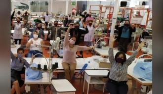 COVID-19 | L'initiative Savoir Faire Ensemble pour fabriquer masques et surblouses | Gouvernement
